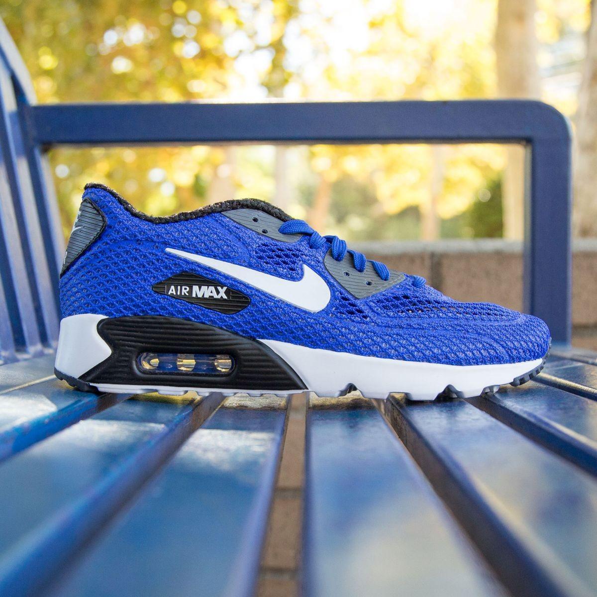 6e49747974 Nike Men Air Max 90 Ultra BR Plus QS blue racer blue white dark gray