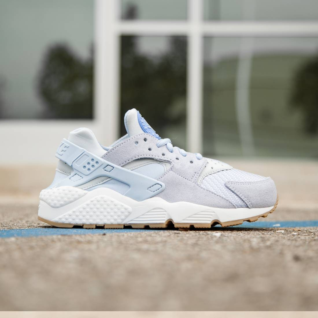 7358640bb8f Nike Women Air Huarache Run Textile TXT (blue   porpoise)