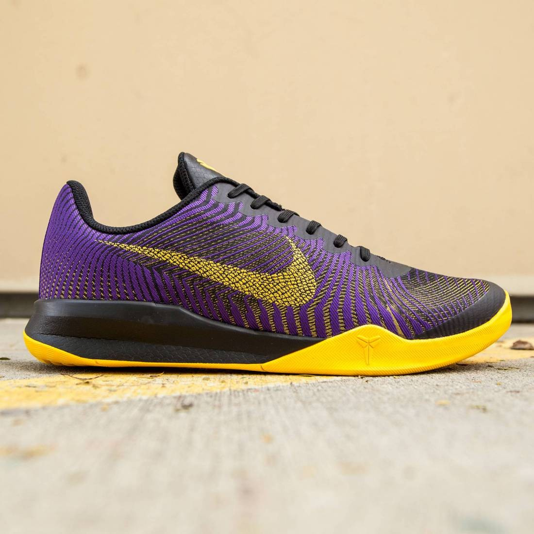pretty nice d1b7d d6a50 Nike Men KB Mentality II (purple  fierce purple  university gold  black)