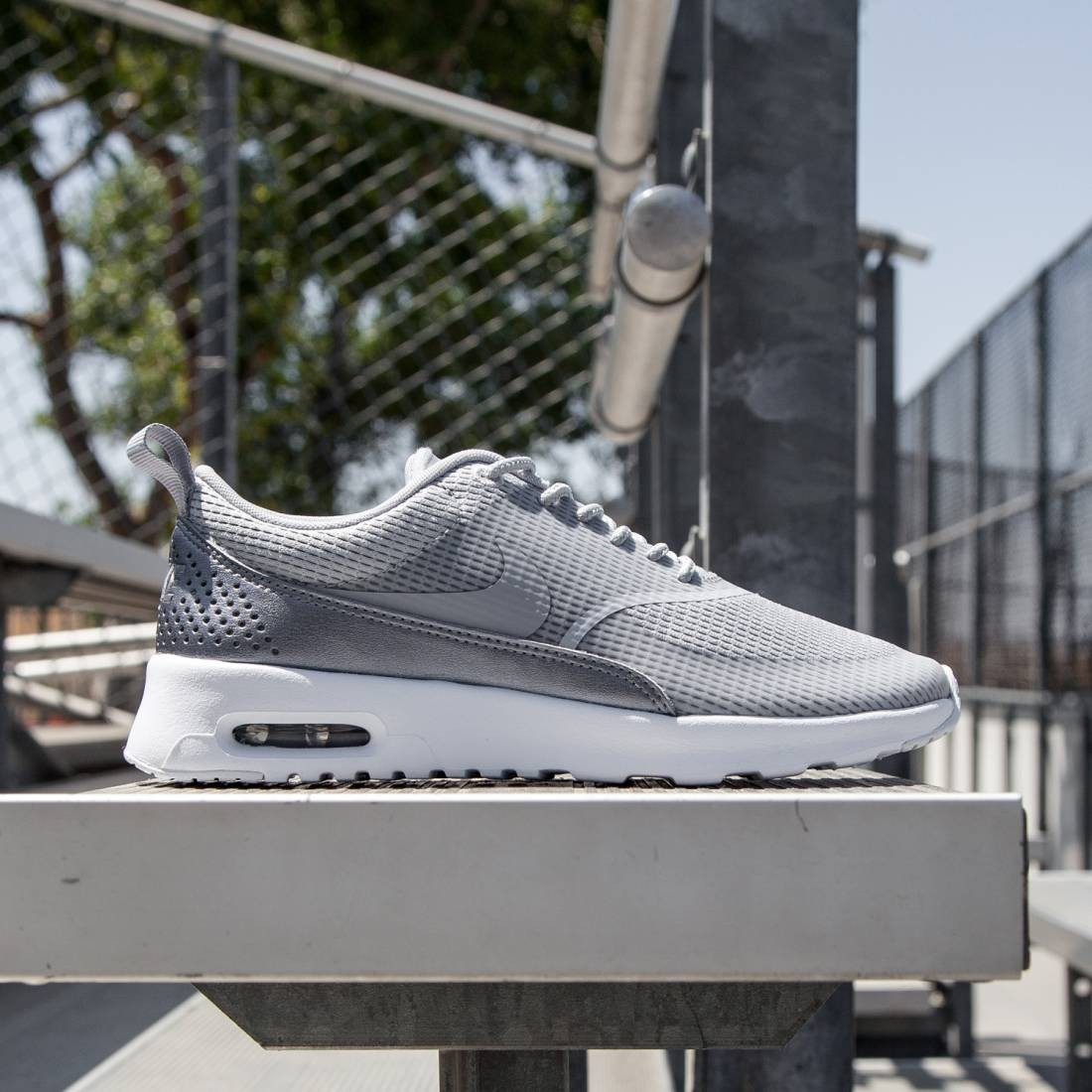 Nike Women Air Max Thea Textile (wolf grey white mtlc cool grey wolf grey)