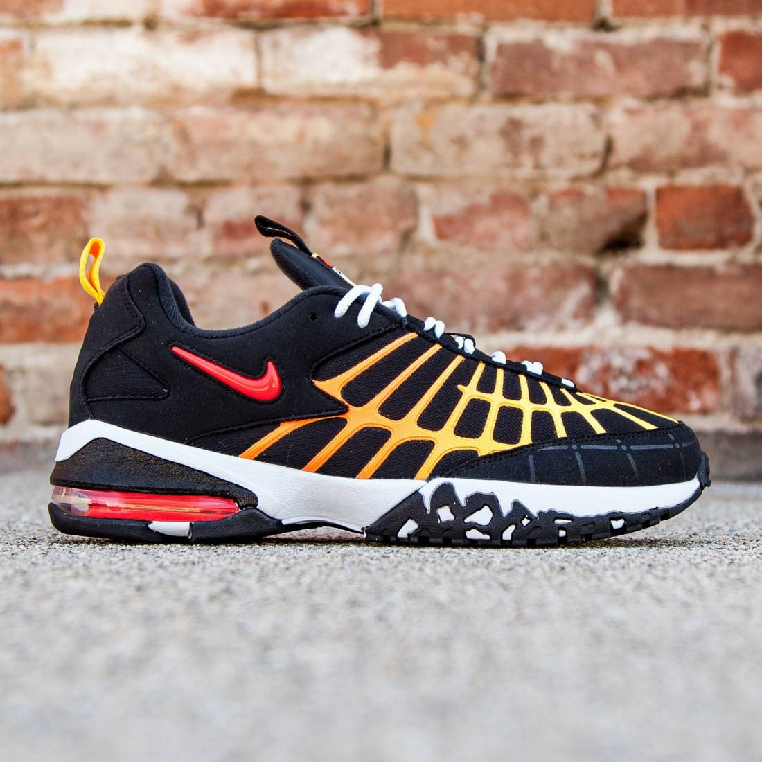 Nike Men Air Max 120 (black laser orange white bright crimson) c672bb27c