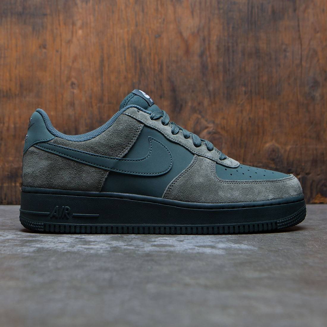 half off f1d9c b5e2e nike men air force 1 tan river rock vintage green white black