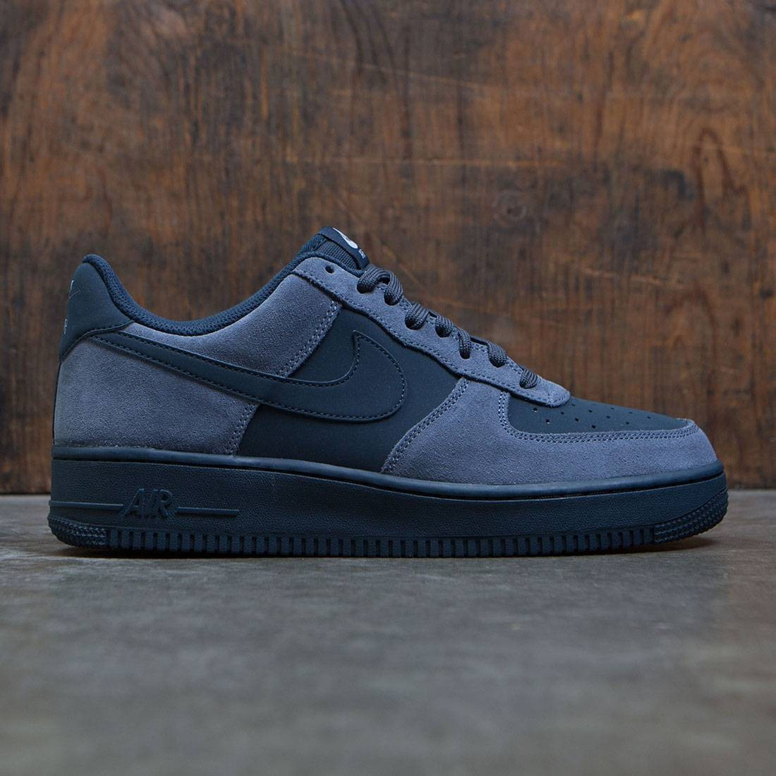 huge discount dd9b0 f1b02 ... cheap nike men air force 1 armory blue armory navy white black a085b  3cb7c