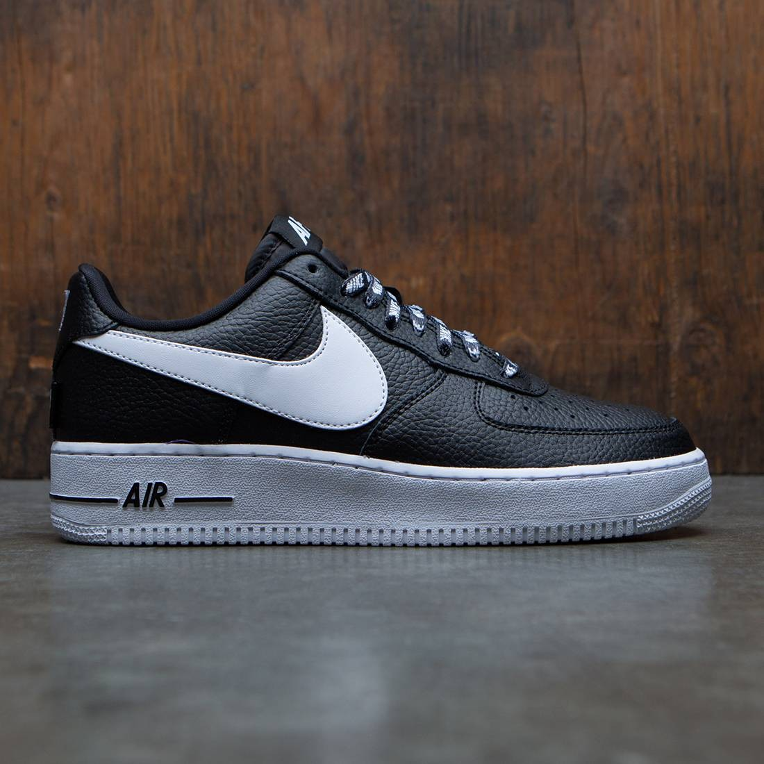size 40 c5e4f 0eb8d Nike Men Air Force 1  07 Lv8 NBA Pack black white