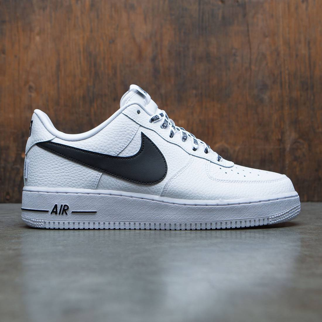 new concept 49fa1 2c8bc Nike Men Air Force 1  07 Lv8 NBA Pack white black