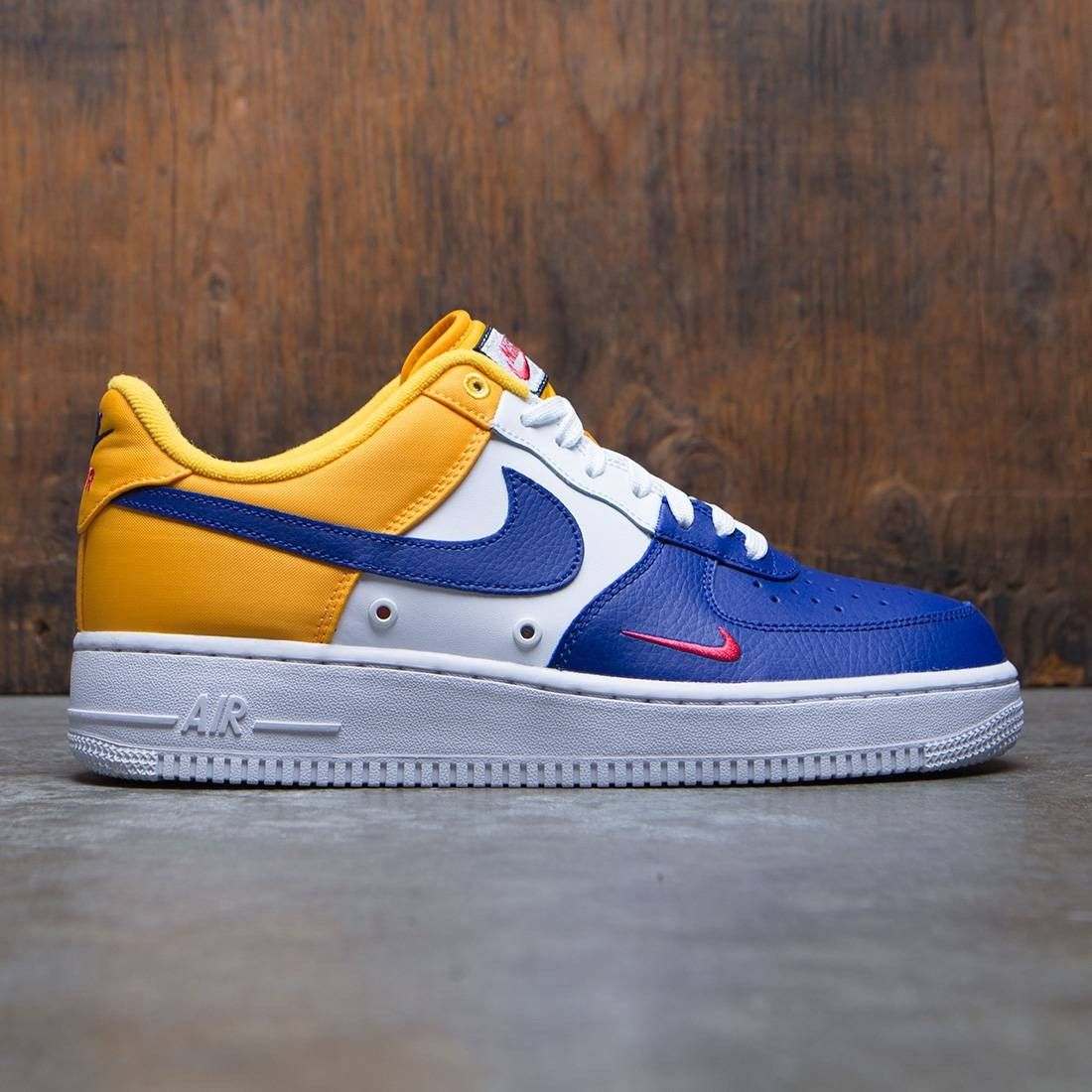 separation shoes f8b72 48e80 nike men air force 1  07 lv8 blue deep royal blue