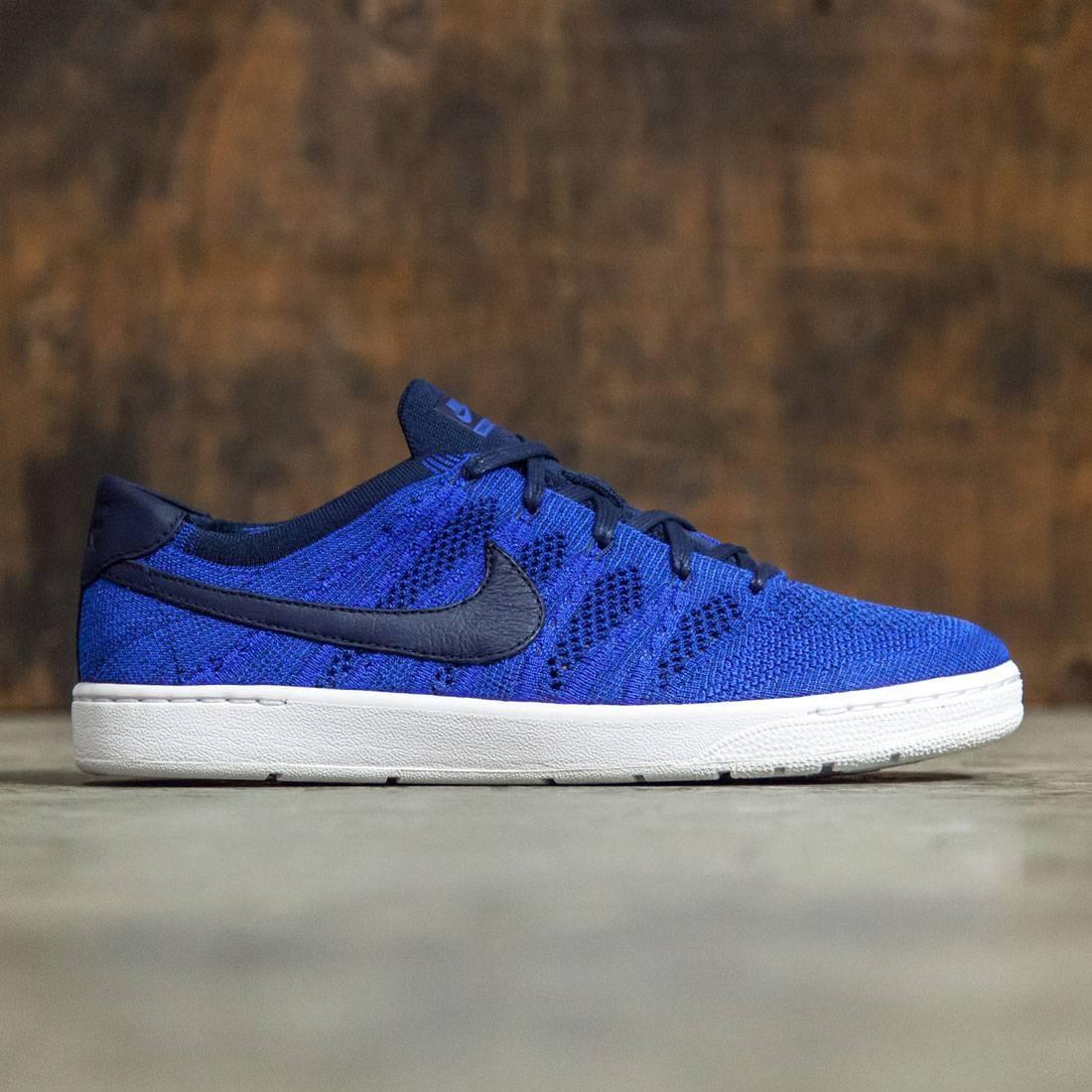 size 40 56db4 f1b4d Nike Men Tennis Classic Ultra Flyknit Shoe (college navy  college  navy-racer blue)