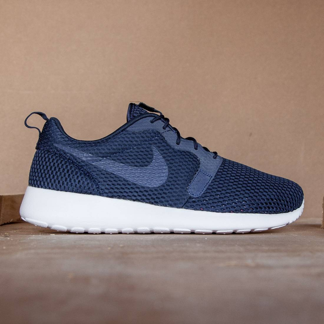 huge selection of 442cf fd188 Nike Men Roshe One Hyperfuse Br (midnight navy / white / midnight navy)