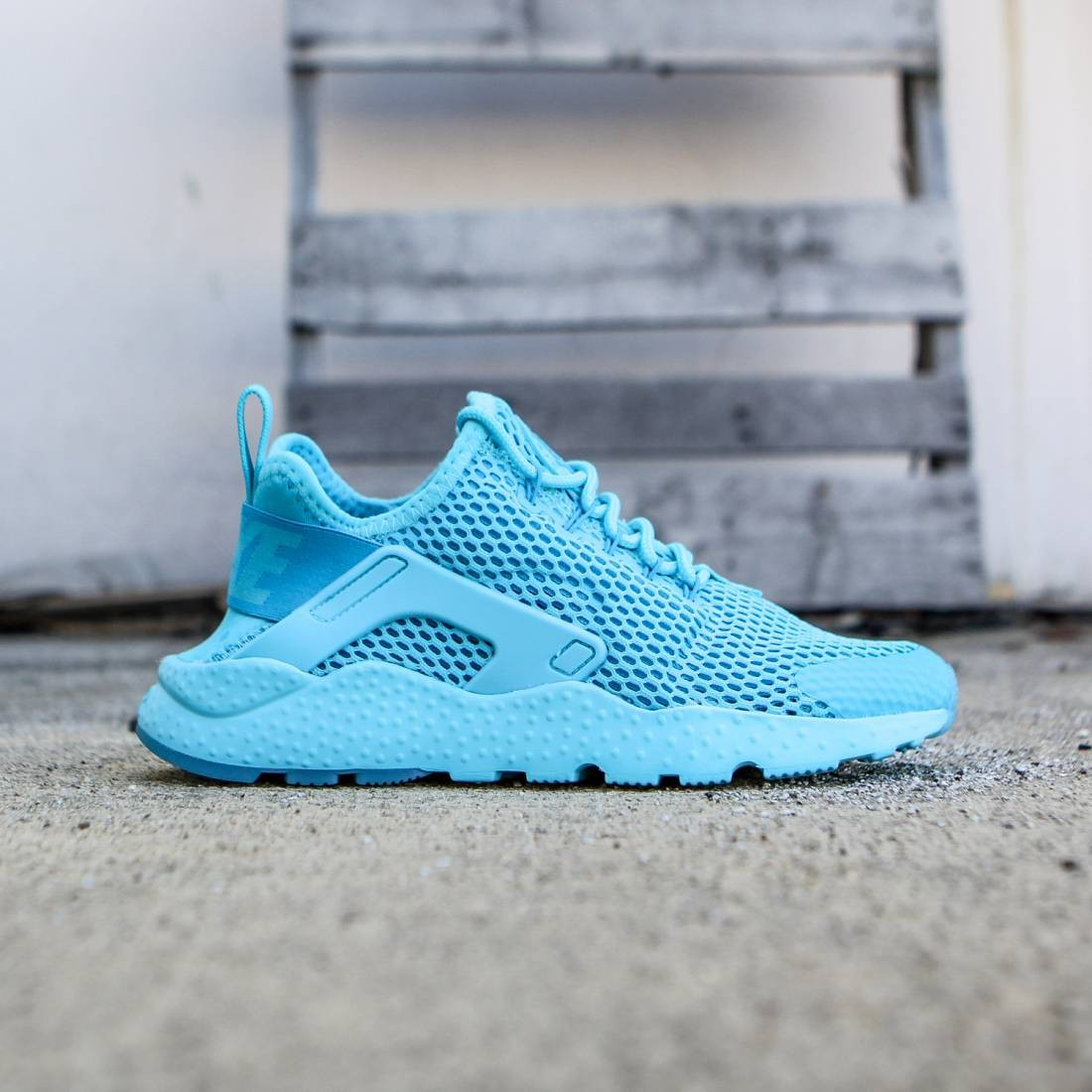 best sneakers 567b6 fedf8 Nike Women W AIR HUARACHE RUN ULTRA BR (blue   gamma blue blue lagoon  gamma  blue)