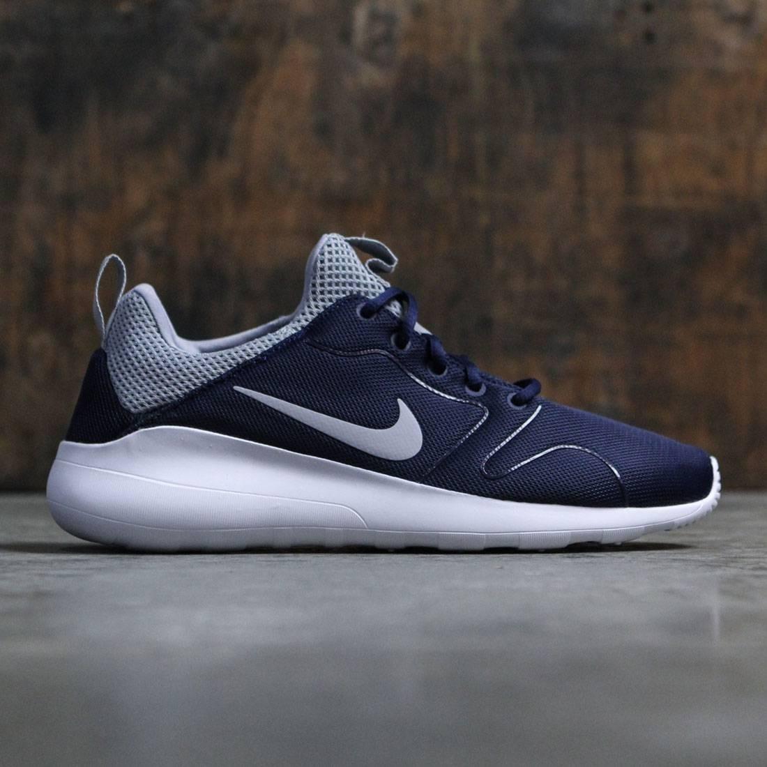 9b29a0432586 Nike Men Kaishi 2.0 (navy   midnight navy   wolf grey-white)