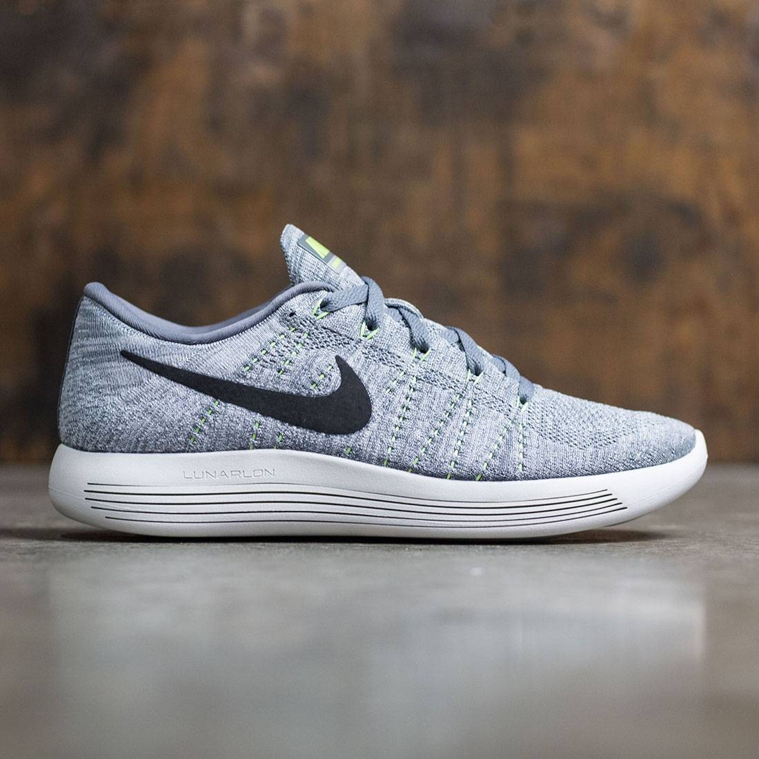 outlet store b7dea 36580 Nike Men Lunarepic Low Flyknit Running (cool grey   black-wolf grey-summit  white)