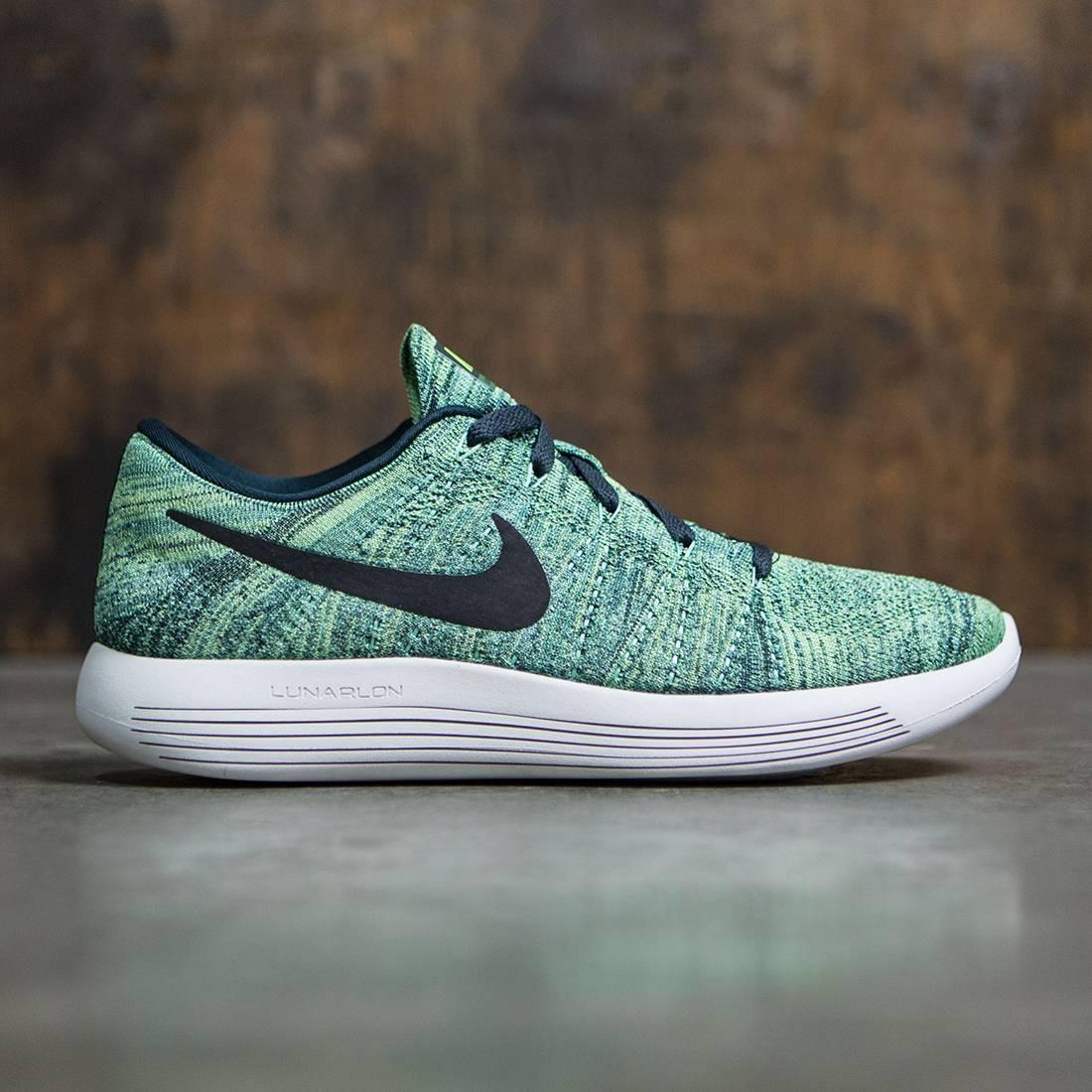 fd84237c9179b Nike Men Lunarepic Low Flyknit Running (seaweed   black-ghost green-summit  white)