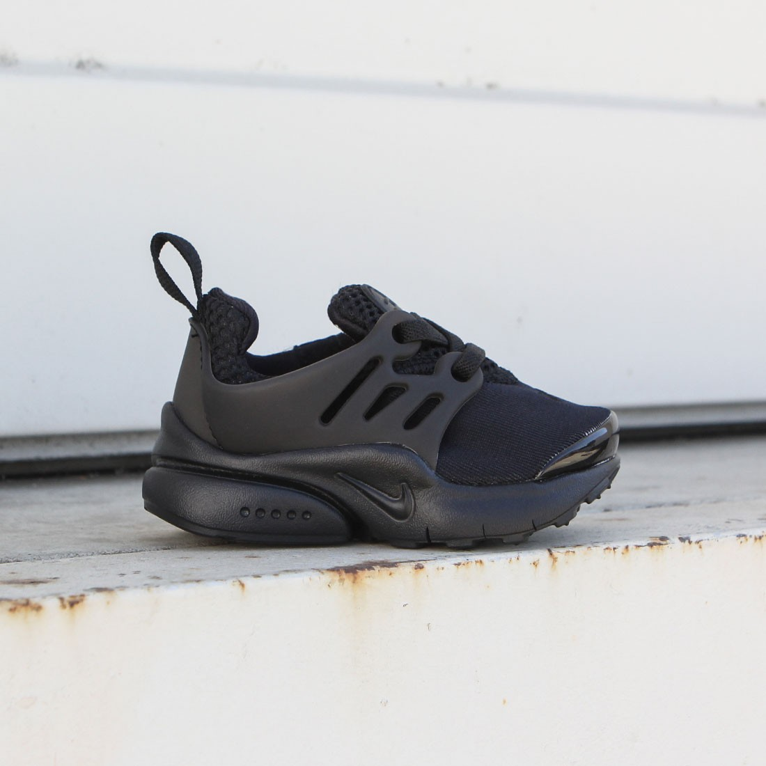 Nike Toddlers Little Presto (Td) Toddler Shoe (black / black-black)