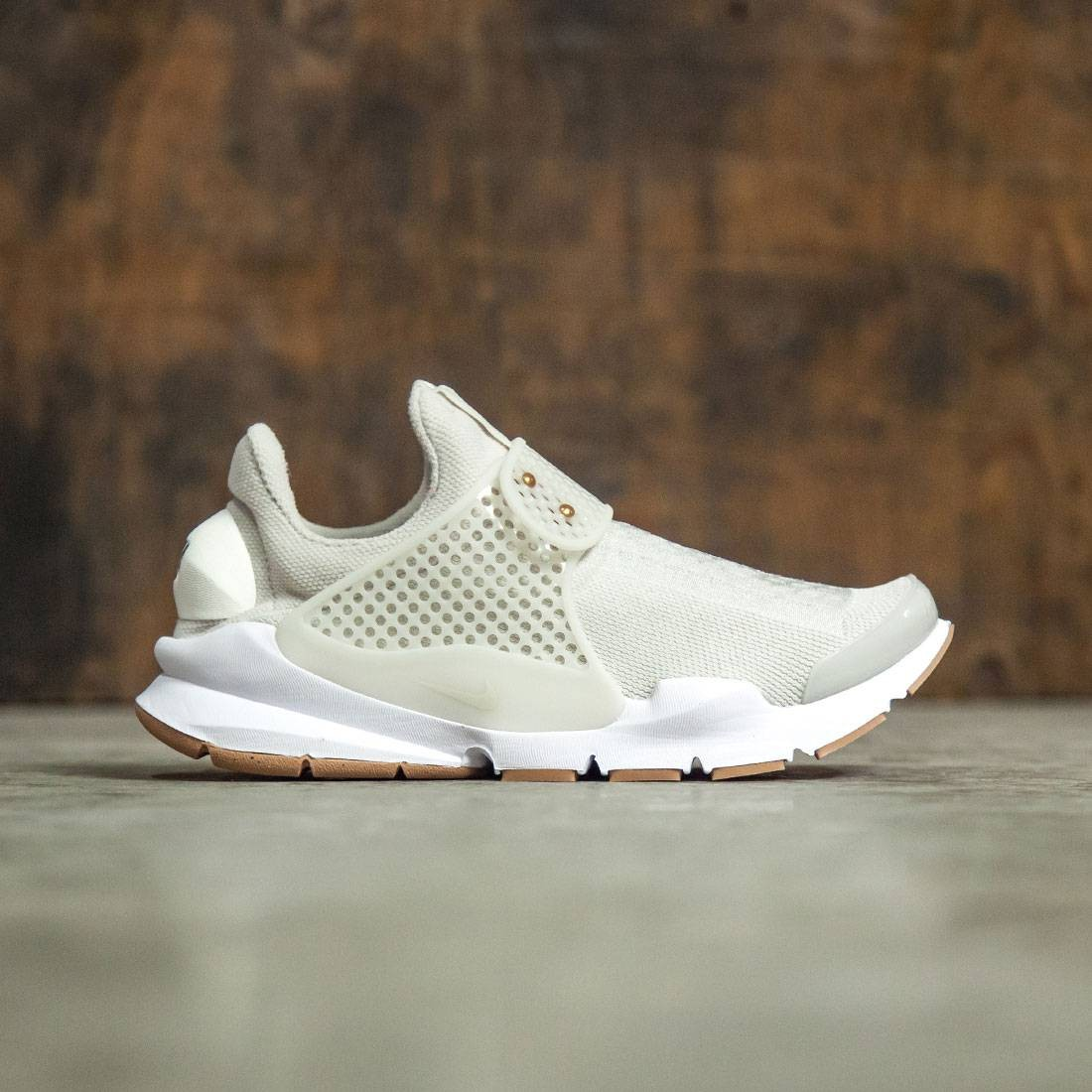Nike Women WomenS Nike Sock Dart Shoe (light bone  sail-sail