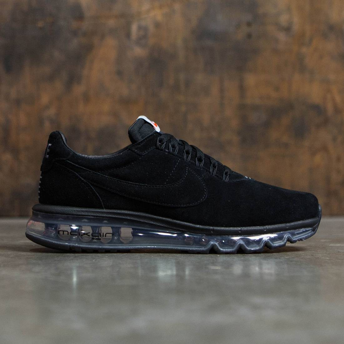 nike men air max ld zero black  black black