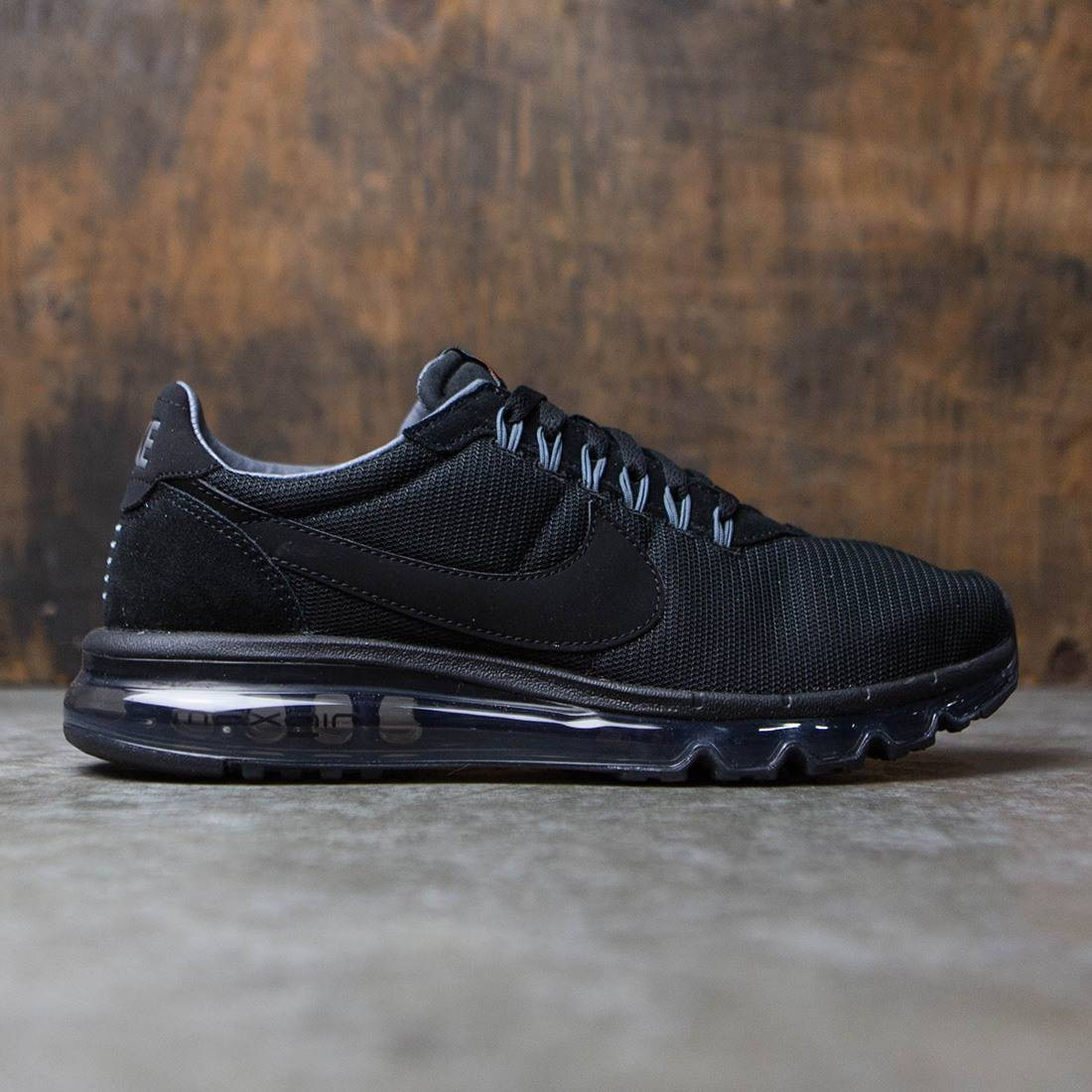 3f4a9f0b30 nike men air max ld zero black black dark grey