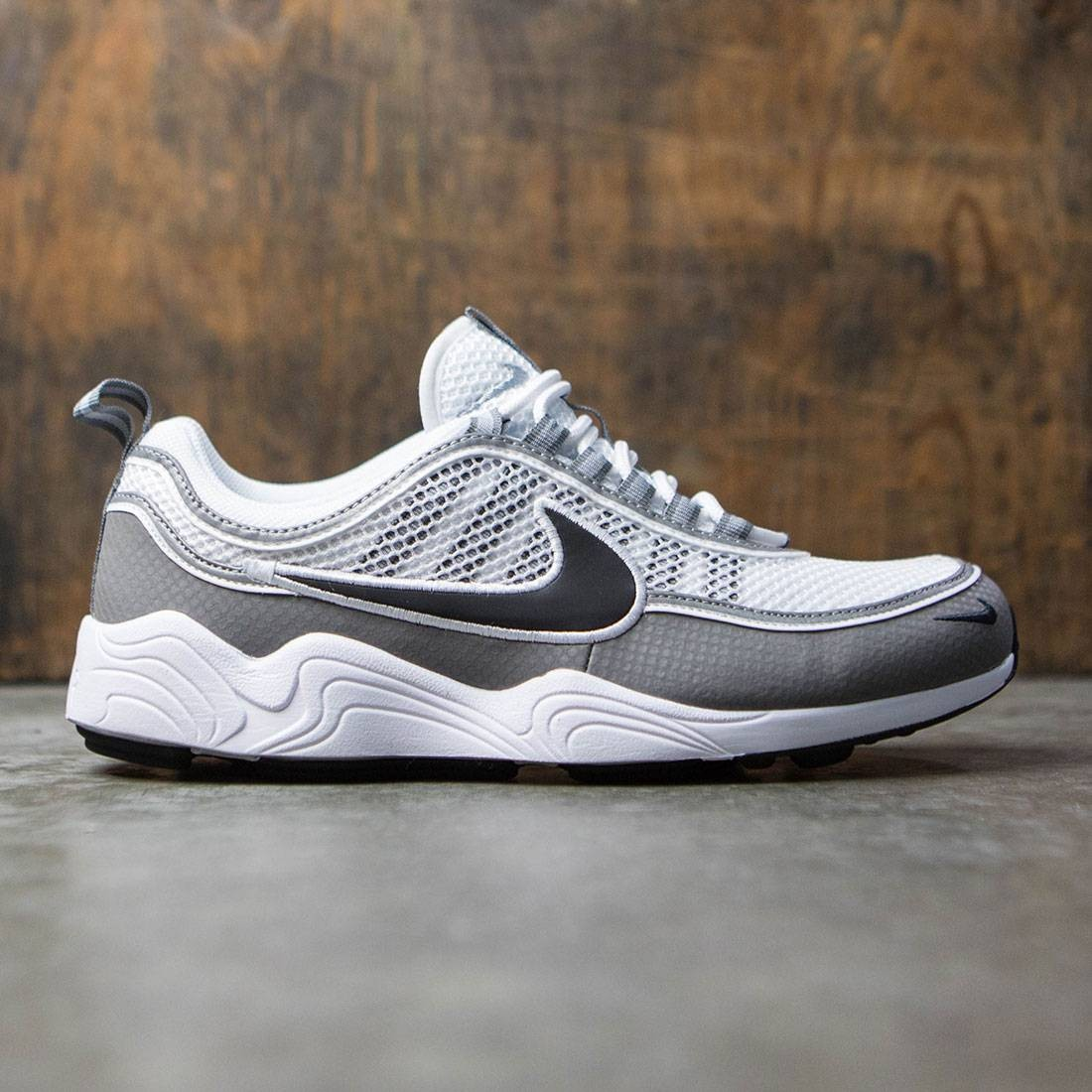 San Francisco 4aa76 11a60 Nike Men Air Zoom Spiridon Qs (white / black-light ash)