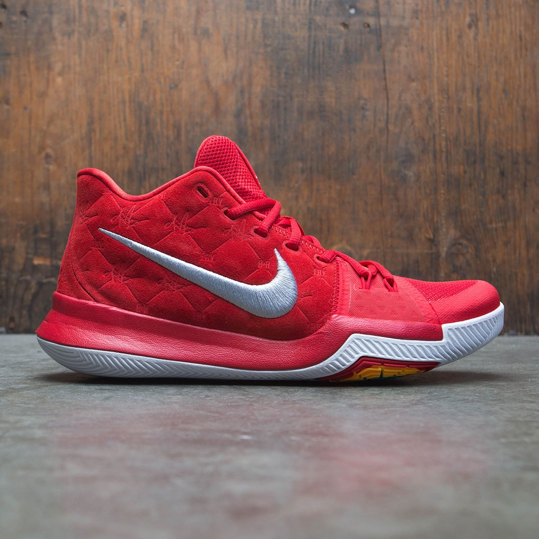 c44ac2b4e66 nike men kyrie 3 red university red wolf grey