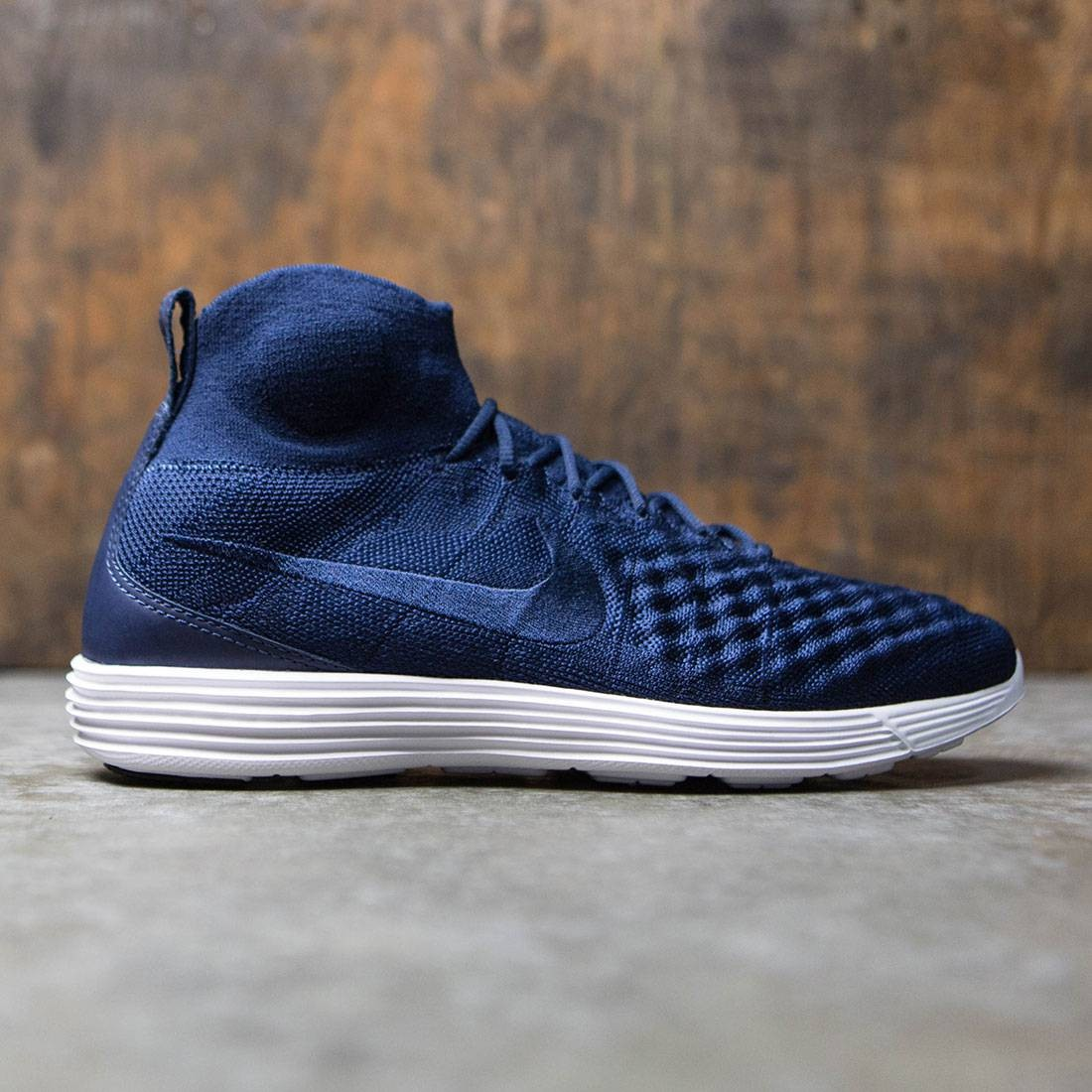 the best attitude a7e22 ff276 Nike Men Lunar Magista Ii Flyknit (college navy / college navy-black-white)