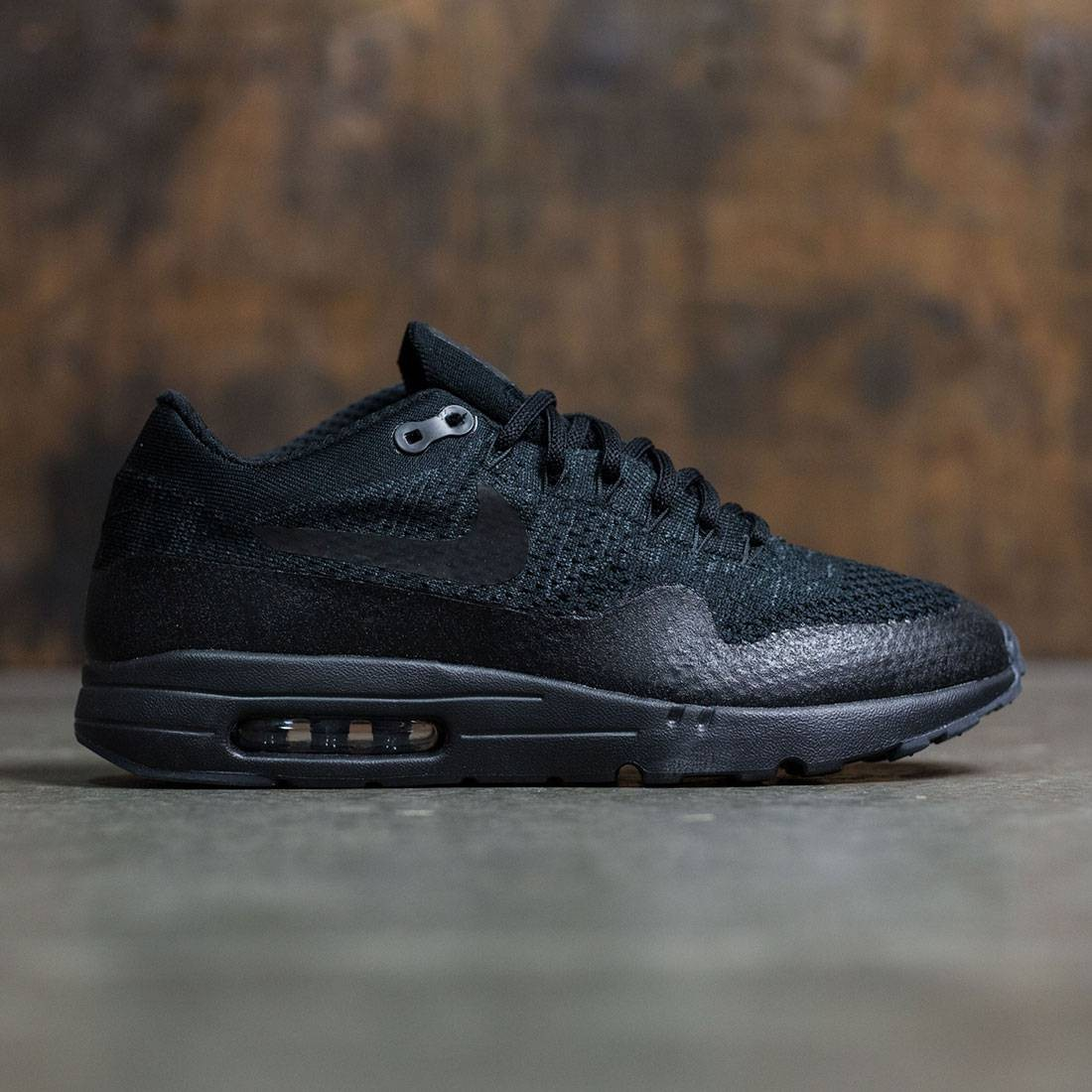 lower price with buy best 100% high quality Nike Men Air Max 1 Ultra Flyknit (black / black-anthracite)