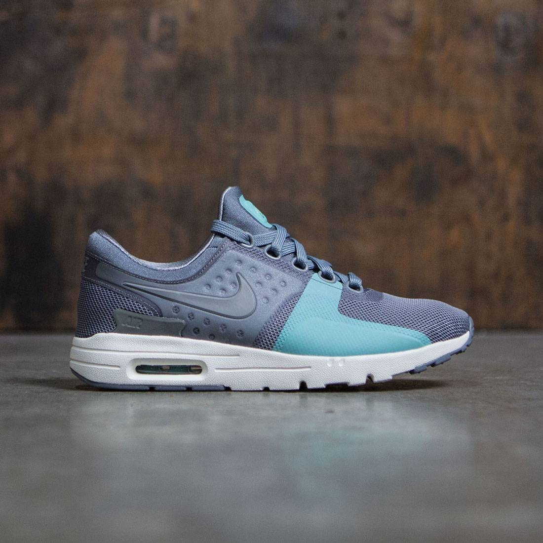 quality design 5d7ca ff6a7 Nike Women Air Max Zero (grey   cool grey   cool grey-sail-washed teal)