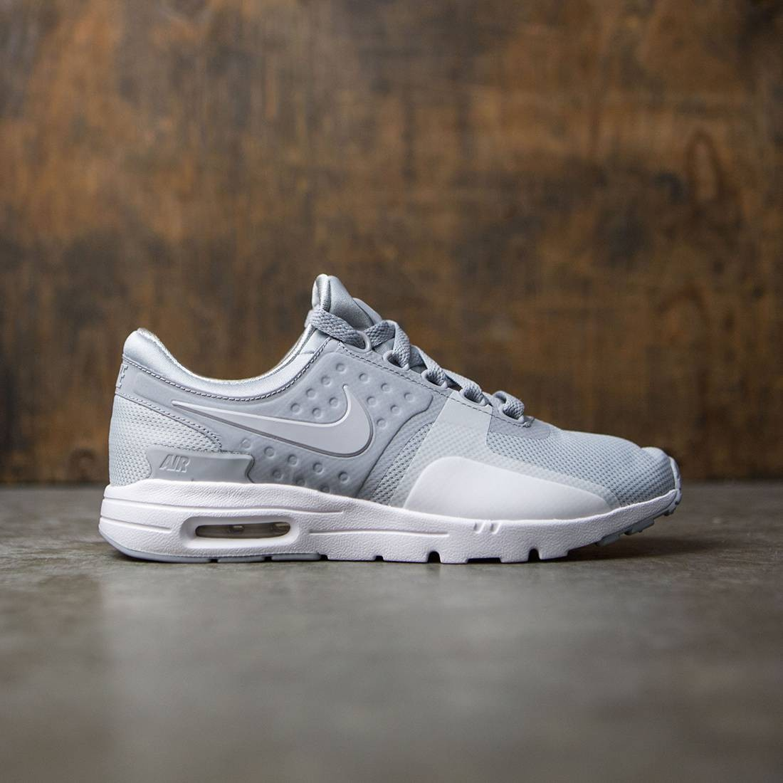 huge discount cefdc eeb76 nike women air max zero wolf grey wolf grey white