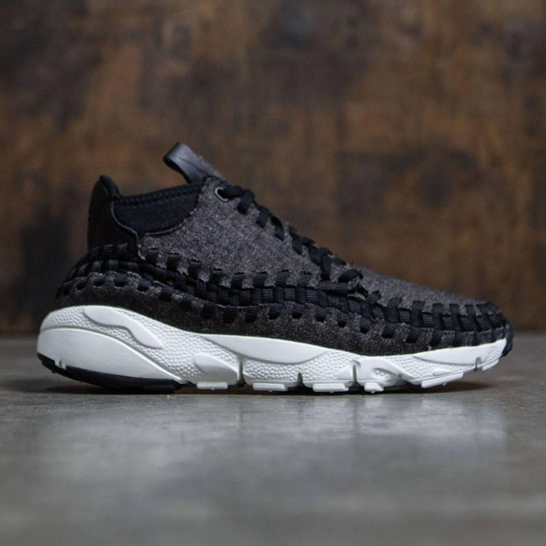 ab30982a2f88 Nike Men Air Footscape Woven Chukka Se (black   black-ivory)