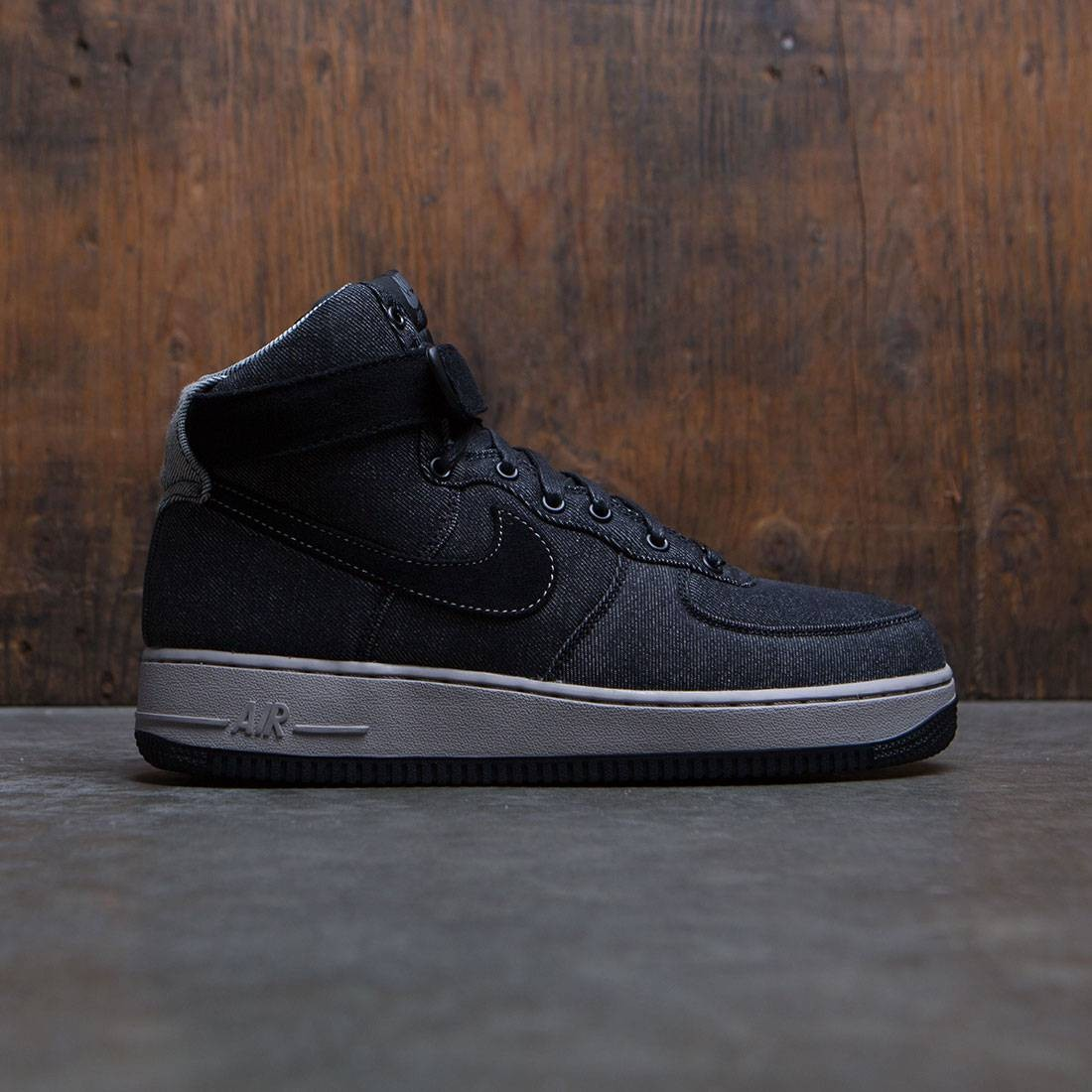 timeless design 8ec92 373cc nike women air force 1 hi se black dark grey cobblestone
