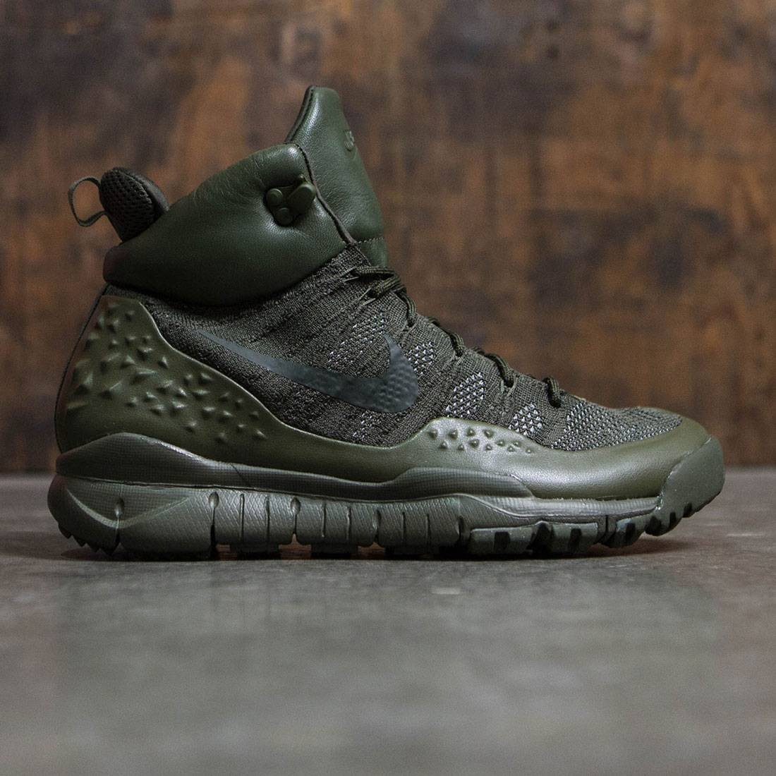 premium selection fcfd9 42f13 Nike Men Lupinek Flyknit (cargo khaki  sequoia)