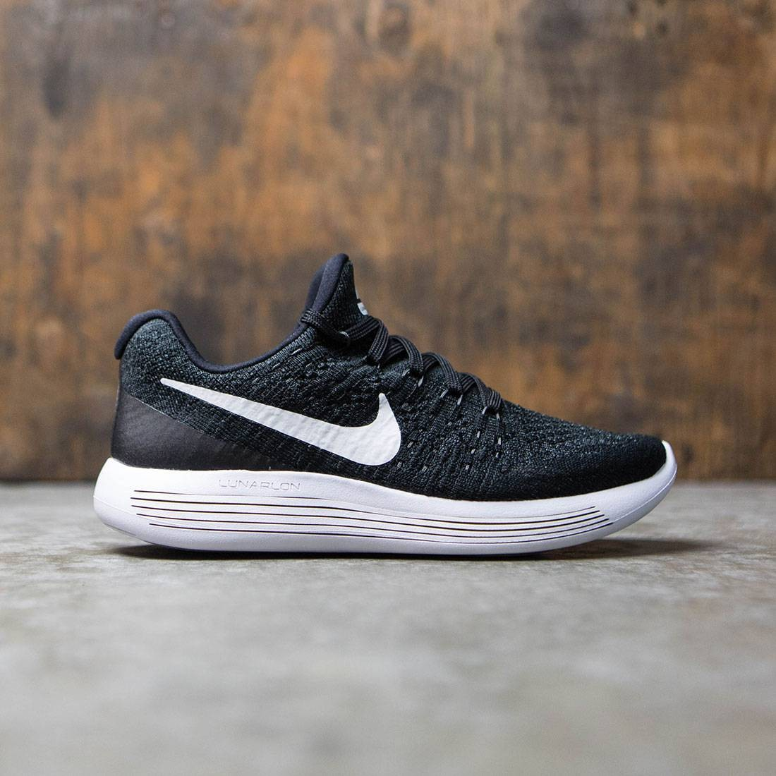1f69a81b14a7 Nike Women Lunarepic Low Flyknit 2 Running (black   white-anthracite)