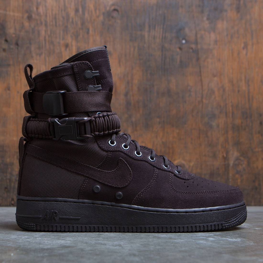 Nike Men Sf Air Force 1 (brown velvet brown)