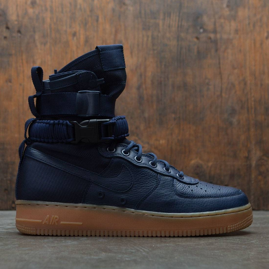 Nike Men Sf Air Force 1 (navy / midnight navy-black)