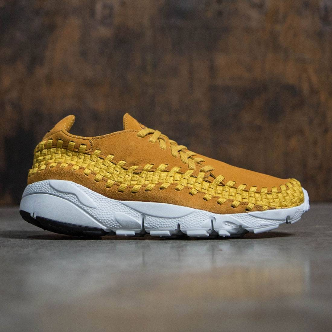 Nike Men Air Footscape Woven Nm (desert ochre   desert ochre-gold dart) ea8ad5594fe1