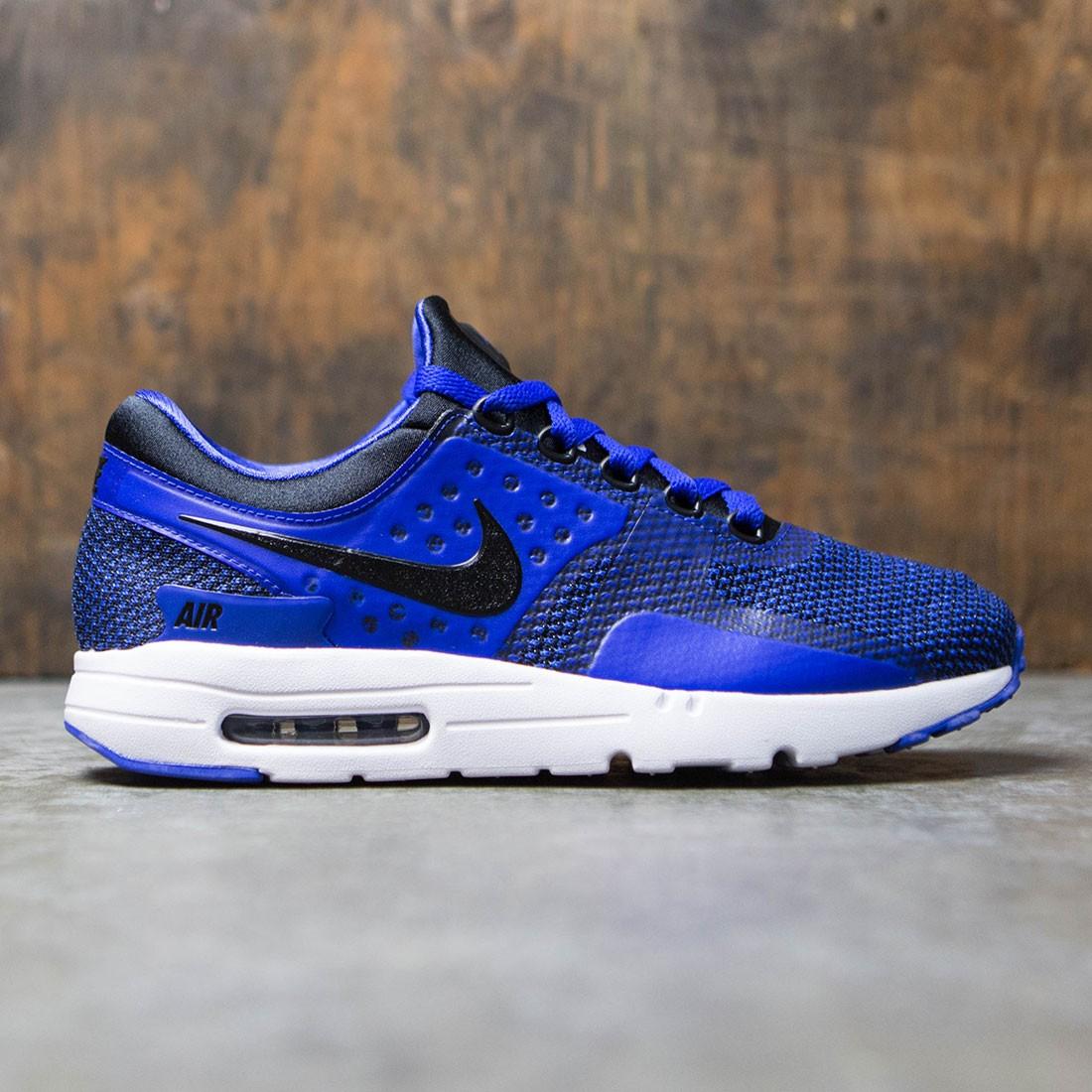 Nike Men Air Max Zero Essential (black / black-paramount blue-binary blue)