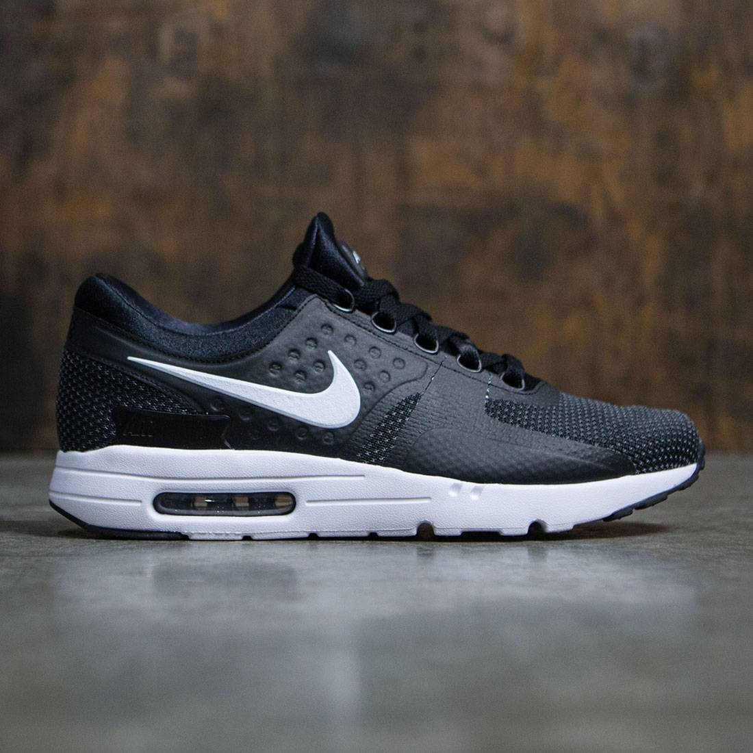 the best attitude 9eebc fdadc Nike Men Air Max Zero Essential (black / white-dark grey)