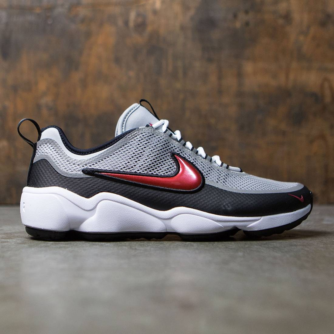 Nike Men Air Zoom Spiridon Ultra (metallic silver / desert red-black-white)
