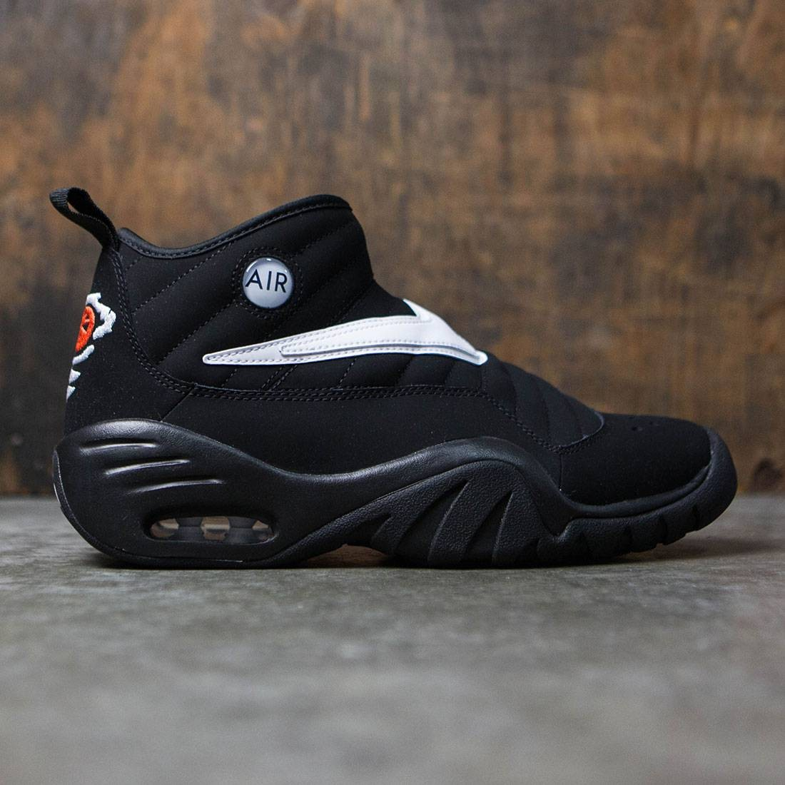nike air shake ndestrukt black