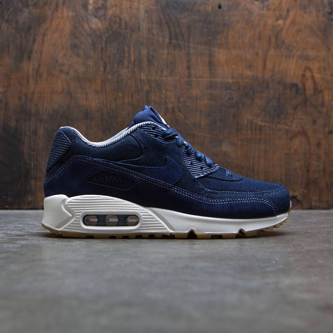 low priced a30b6 36b1a Nike Women Air Max 90 Se (blue / binary blue-muslin-sail)