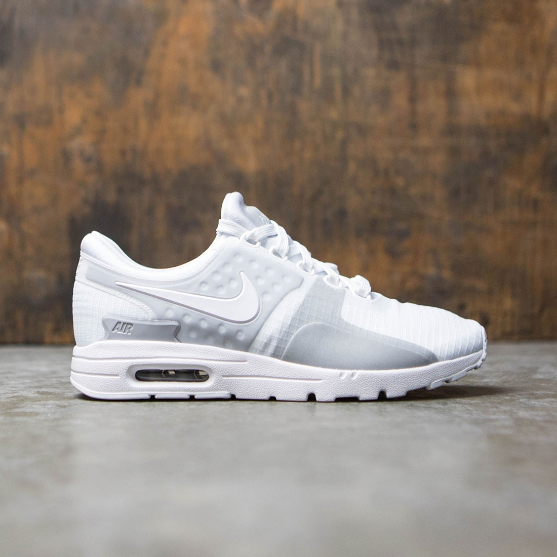 Nike Women Air Max Zero Si (white white wolf grey reflect silver)