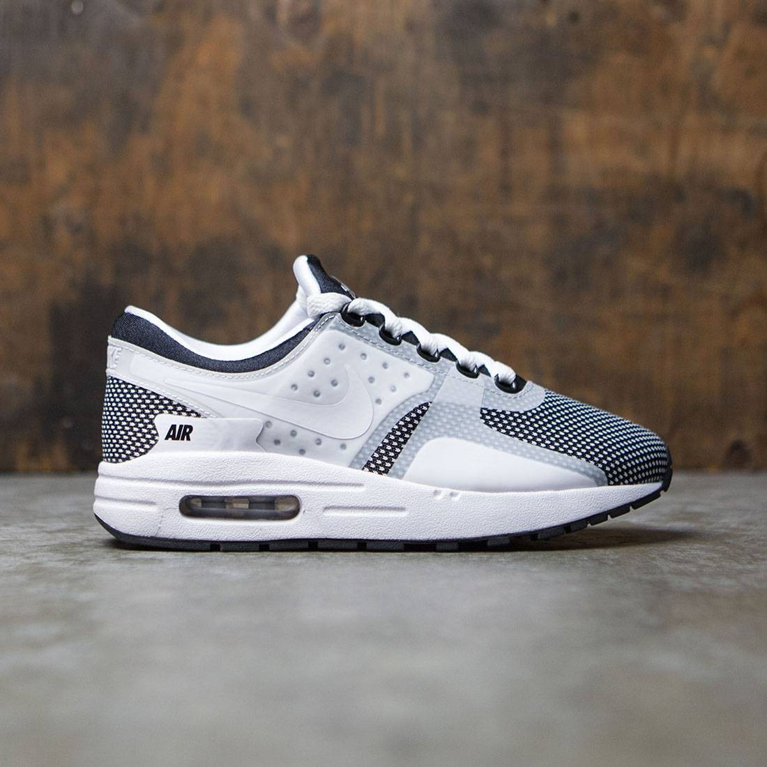 the best attitude 46bc7 f39c2 Nike Big Kids Nike Air Max Zero Essential (Gs) (black   white-wolf grey)