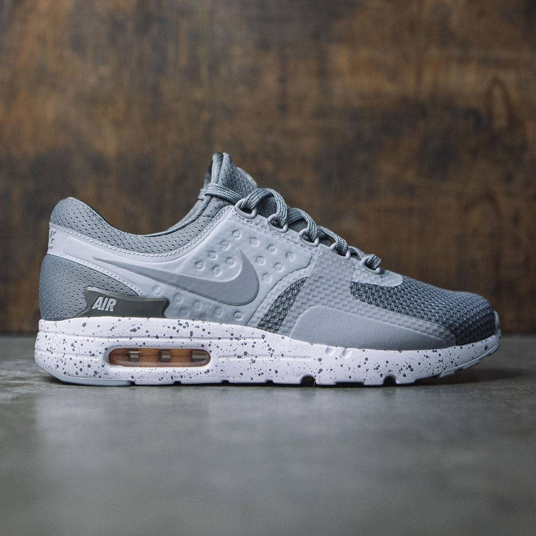 économiser 71a6e 64f64 Nike Men Air Max Zero Premium (tumbled grey / wolf grey-white-melon tint)