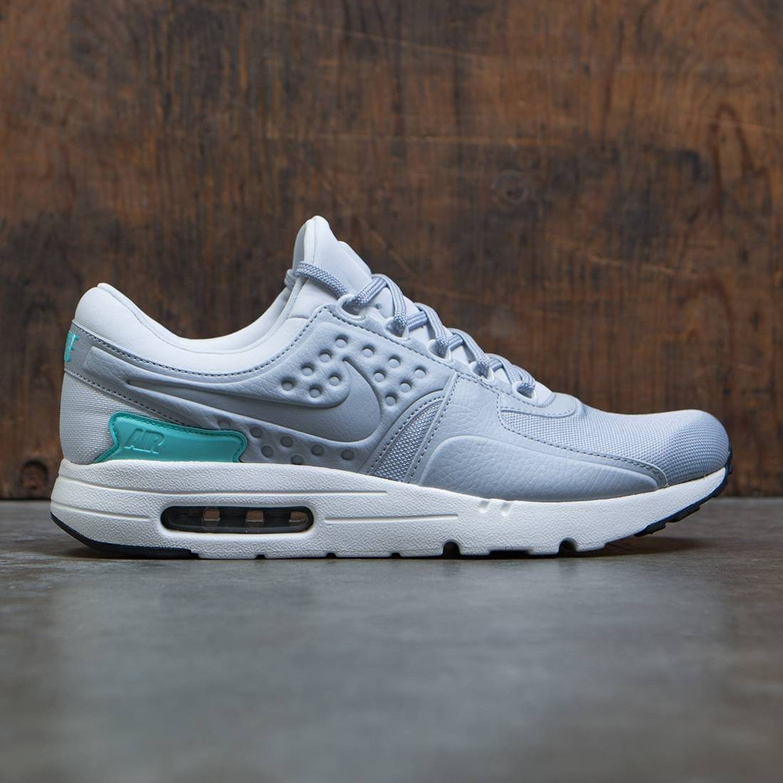 huge selection of c8904 2bb79 Nike Men Air Max Zero Premium (pure platinum / wolf grey-aurora green)