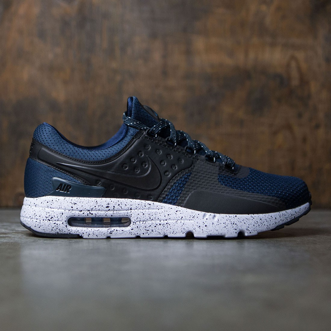 826f0ada98 ... sale nike men air max zero premium navy armory navy black white  industrial blue e3c92 f7ea1