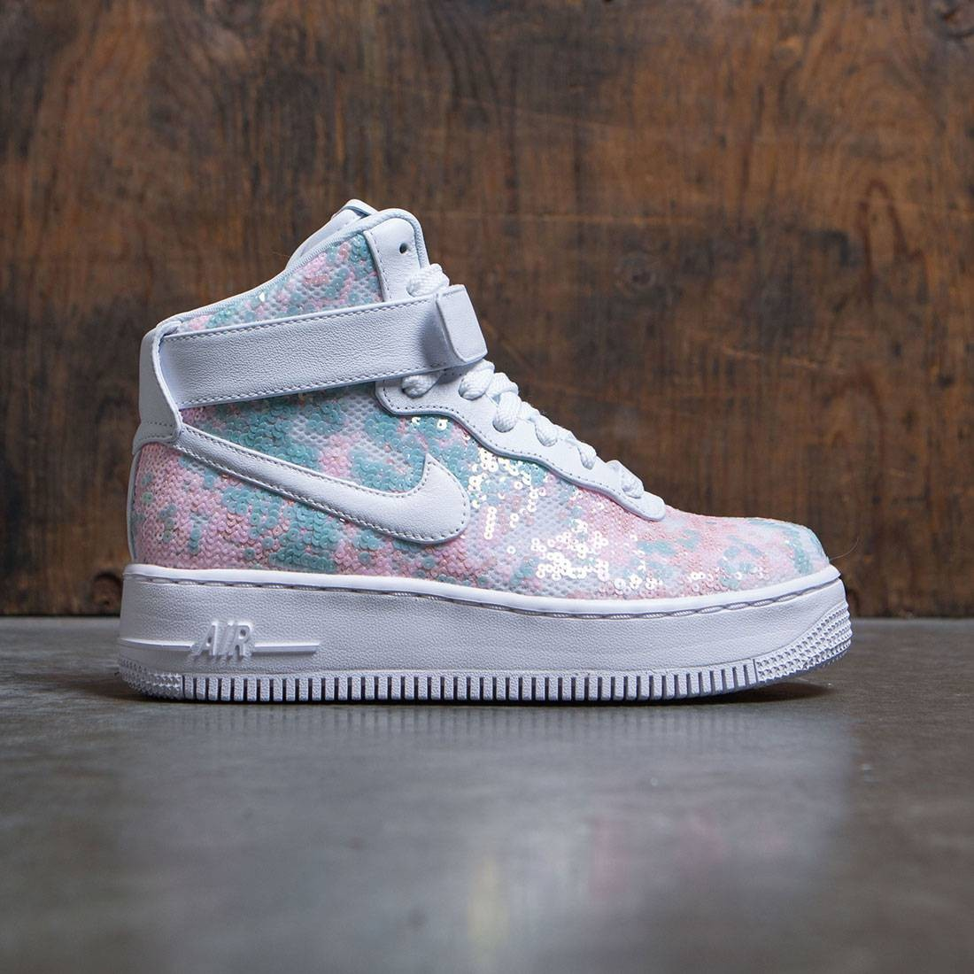 Nike Women Air Force 1 Upstep High Lx (white / white)