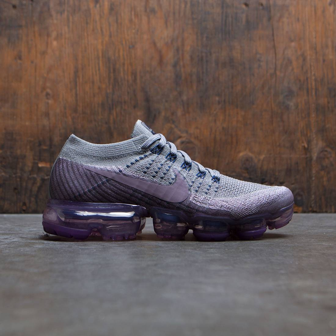 nike women nikelab air vapormax flyknit running college navy taupe grey tea  berry 02cb30c2d