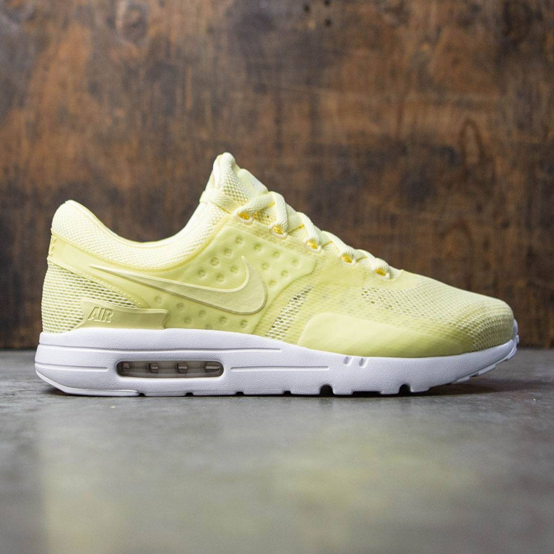 new styles 51086 28882 nike men air max zero br lemon chiffon lemon chiffon white