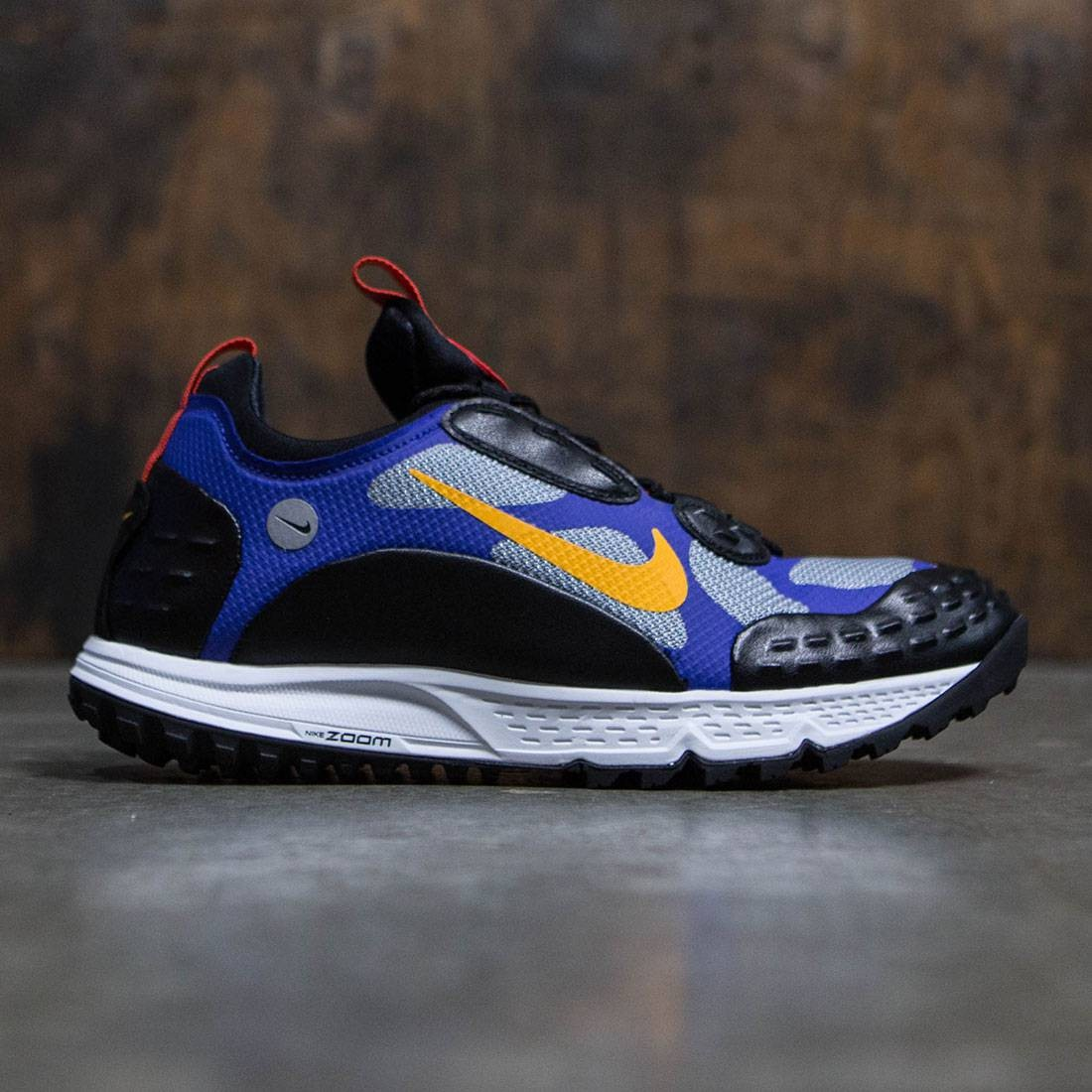 Nike Men Air Zoom Albis 16 (black / taxi-concord-chile red)