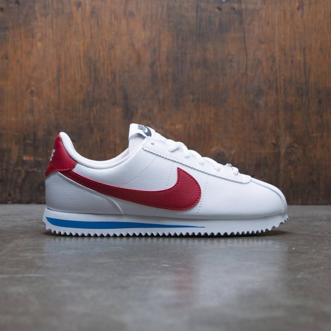 best sneakers 55ba8 a125d Nike Big Kids Cortez Basic Sl (white / varsity red-varsity royal-black)