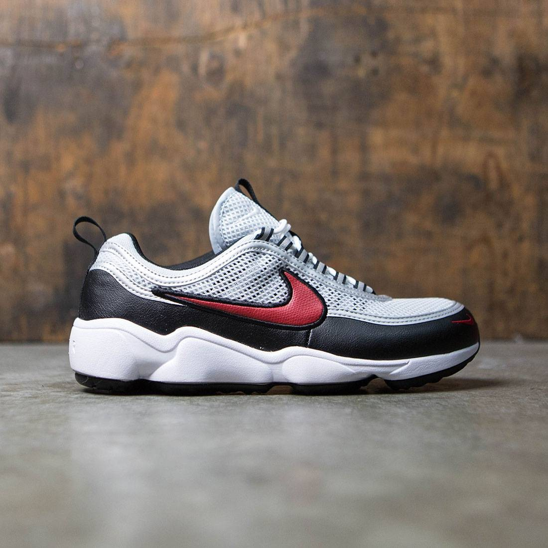 Nike Women Air Zoom Spiridon (pure platinum   desert red-white-black) 899d191455