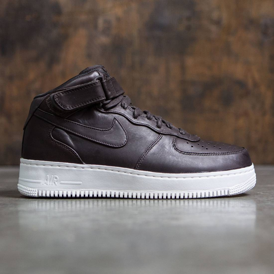 NikeLab Men Air Force 1 Mid (velvet brown / velvet brown-velvet brown)